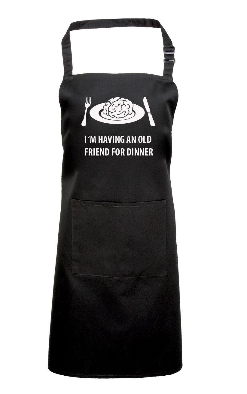 White apron ro - Hannibal Apron Fan Gift Idea Doctor Lecter Black Amazon Co Uk Kitchen Home