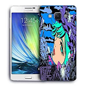 Snoogg mermaid among 2657 Designer Protective Back Case Cover For Samsung Galaxy A7