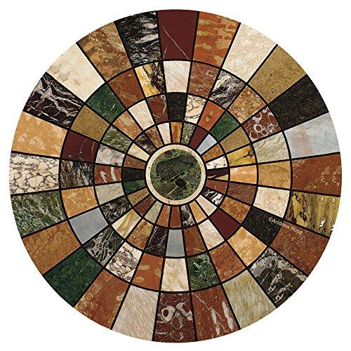 Thirstystone TSAS8 Natural Sandstone Coaster Set- Marble Mosaic