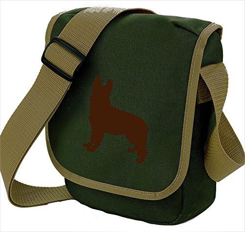 Bag Pixie - Borsa a tracolla unisex adulti Brown Dog Oive Bag
