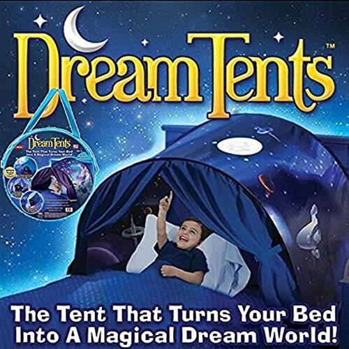 Tente Enfant Tente de Rêve Tentes De RêVe Nouvelles De RêVe Magique Hiver Wonderland Pliant Cadeau pour Enfant (Weltraumabenteuer)