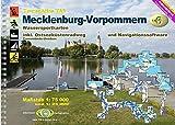 TourenAtlas Wasserwandern / TA6 Mecklenburg-Vorpommern: 57 Karten. 1:75000 und 1: 25000 + Navigationssoftware - Erhard Jübermann
