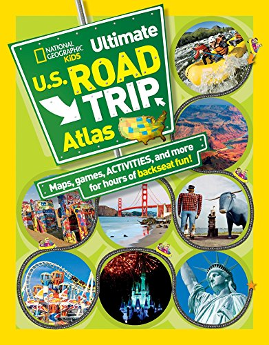 National Geographic. Kids Ultimate U.S. Road Trip Atlas [Idioma Inglés]