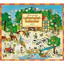 Mein großer Leiterspielkalender 2013: Illustriert von Christian Kämpf, 6 Blätter à 2 Monate