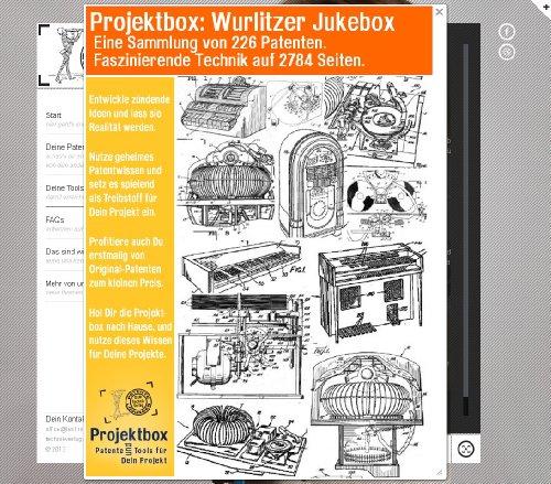 Wurlitzer Jukebox: Deine Projektbox inkl. 226 Original-Patenten bringt Dich mit Spaß hinter die Geheimnisse der Technik!