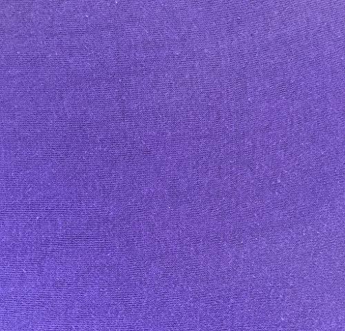 badtex24 Spannbettlaken 90 100 x 200 Spannbetttuch Bettlaken Jersey 100% Baumwolle 24 Farben Violett/Lila 90x190-100x200cm - 2