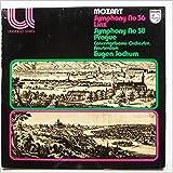 Mozart: Symphony No. 36 Linz, Symphony No .38 Prague [LP]