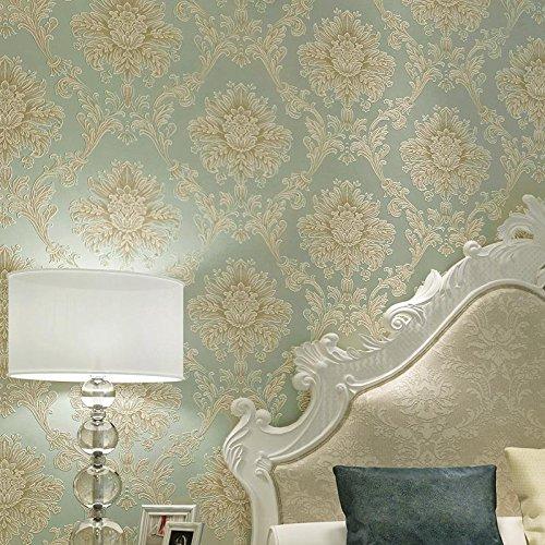 Retro-moderne-tapete (im europäischen stil geprägt wallpaper wallpaper wallpaper - modernes wohnzimmer wall - tapete,fc8353 - retro - grüne pat falsch ändert nicht die adresse,tapete nur)