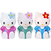 JOY STORIES® Hello Kitty Money Saving Bank, Coin Holder, Piggy Bank for Kids - Set of 3 (Multi Colour)