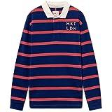 HKT by Hackett London Men's Hkt Ls Str Rby Polo Shirt