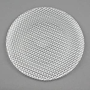Générique - Assiette de Présentation 33 cm - Verre transparent