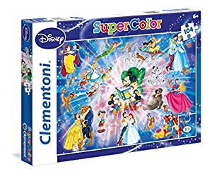 Clementoni - Puzzle de Mickey Mouse, 104 Piezas (27954.8)