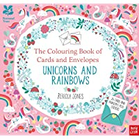National Trust: The Colouring Book of Cards and Envelopes Unicorns and Rainbows (Colouring Cards and Envelopes Series)