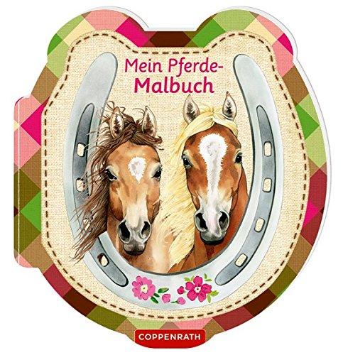 Mein Pferde-Malbuch