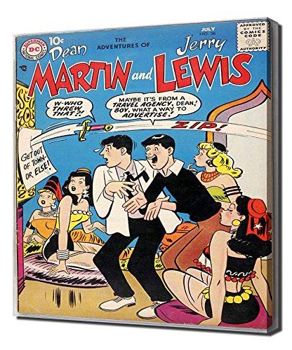 martin-and-lewis-comics-no-38-impresion-en-lienzo