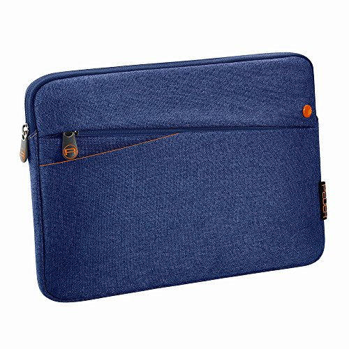 """PEDEA Tablet PC Tasche \""""Fashion\"""" für 10,1 Zoll (25,6cm) Tablet Schutzhülle Tasche Etui Case mit Zubehörfach, blau"""