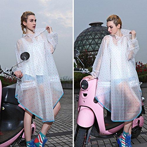 regenmantel regenjacken damen regen poncho mit kapuze wasserdicht modische regenkleidung f r. Black Bedroom Furniture Sets. Home Design Ideas