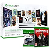 Pack Xbox One S 500Go 3M Game Pass + 3M LIVE + Forza Motorsport 7 (digitale) + Wolfenstein II : The New Colossus