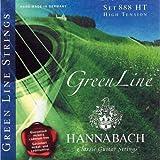 Hannabach 653117 - Cuerda para guitarra de greenline (tensión media)