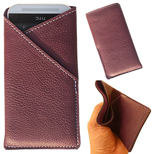 Lenovo S850 - New Stylish Pu Leather Mobile Protector Pouch Cover By eSyon - Black  available at amazon for Rs.249