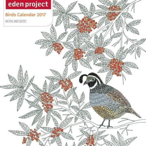 Eden Project mini wall calendar 2017 (Art