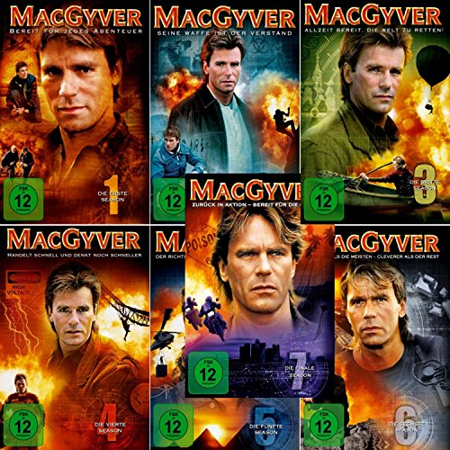 Staffel 1-7 (38 DVDs)