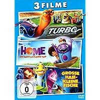 Turbo/Home/Grosse Haie - Kleine Fische 3er DVD Set
