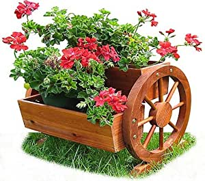 Habau 691 Cassetta per fiori con ruota di carro