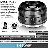 Neewer® NW-E-35-1,7 35mm f / 1.7 - 7
