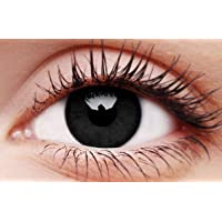TerrorEyez Colourful Contact Lens, 0.55in Contact Lens 0 Degree Coloured Contact Lenses Holiday Makeup Beautiful Pupil…