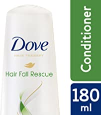 Dove Hair Therapy Hair Fall Rescue Conditioner, 180ml+Extra 5%