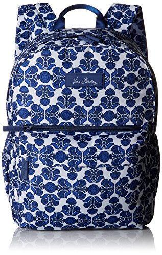vera-bradley-damen-henkeltasche-blau-cobalt-tile