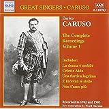 Caruso : complete Recording /vol.1