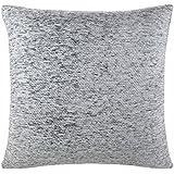 "Chenille Cushion Cover Silver Grey 22""x22"""