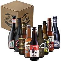 """INTRO BEER CLUB Box Degustazione Birre Artigianali - Selezione di Birre dal Mondo""""Artigianali italiane"""" - Kit con 9…"""
