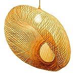 lustre Moderne Chinois Bambou Salon Salle À Manger Éclairage Simple Chambre Jardin Hôtel Restaurant Étude Lampe E27