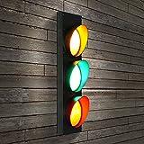 Ampel Wand Lampe LED Retro Kreative Restaurant Aisle Bar Eisen Wand Lampe Einzigen Kopf Wandleuchte