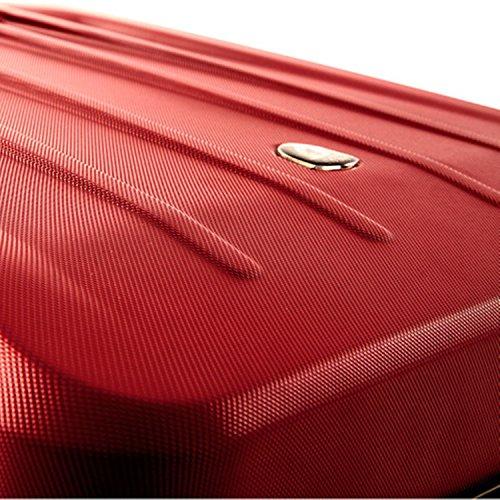 ... 50% SALE ... PREMIUM DESIGNER Hartschalen Koffer - Heys Core Delta Rot - Handgepäck Rot