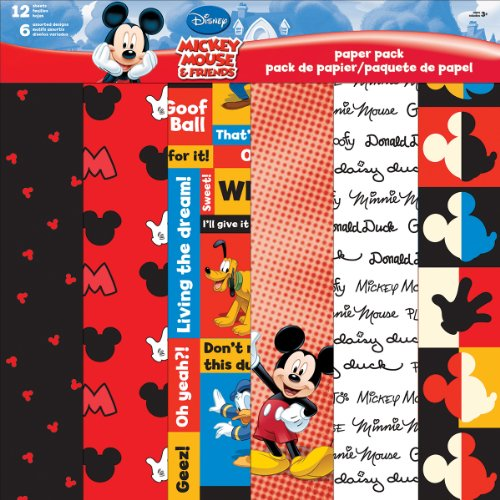 trends-international-disney-paper-pack-12-inch-x-12-inch-12-sheets-mickey-and-friends