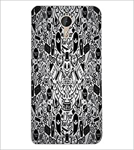 PrintDhaba Graffiti D-5528 Back Case Cover for LETV (LE ECO) LE 1 PRO (Multi-Coloured)