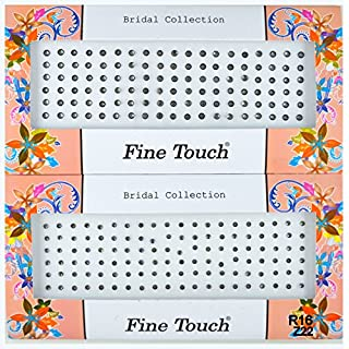 Fancy Bindis by Avx Fashion Crystal Stones Bridal Collections Bindi Tattoo Stickers Set of Many Style Body Adhesive Temporarely Jewelry (Z18)