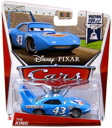 Disney Pixar CARS 2 Movie 1:55 Die Cast Car The King (Cars 2 Disney Diecast)