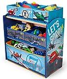 Disney Planes Regal Aufbewahrungsregal Kinderregal Spielzeugkiste 84898PL