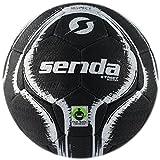 Senda Street Palla da Calcio, Fair Trade Certified, Nero/Bianco, Taglia 4(13Anni in su)