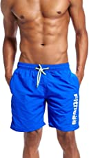 MOSE Solid Beach Shorts Shorts Swim Trunks Quick Dry Beach Surfing Running Swimming Water Short Casual Pants