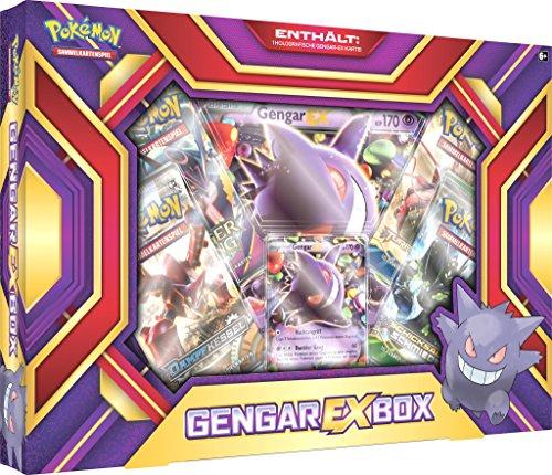 Pokemon Kostenloser Versand Ex (Pokemon 25941 - Gengar-EX-Box Sammelkarten)