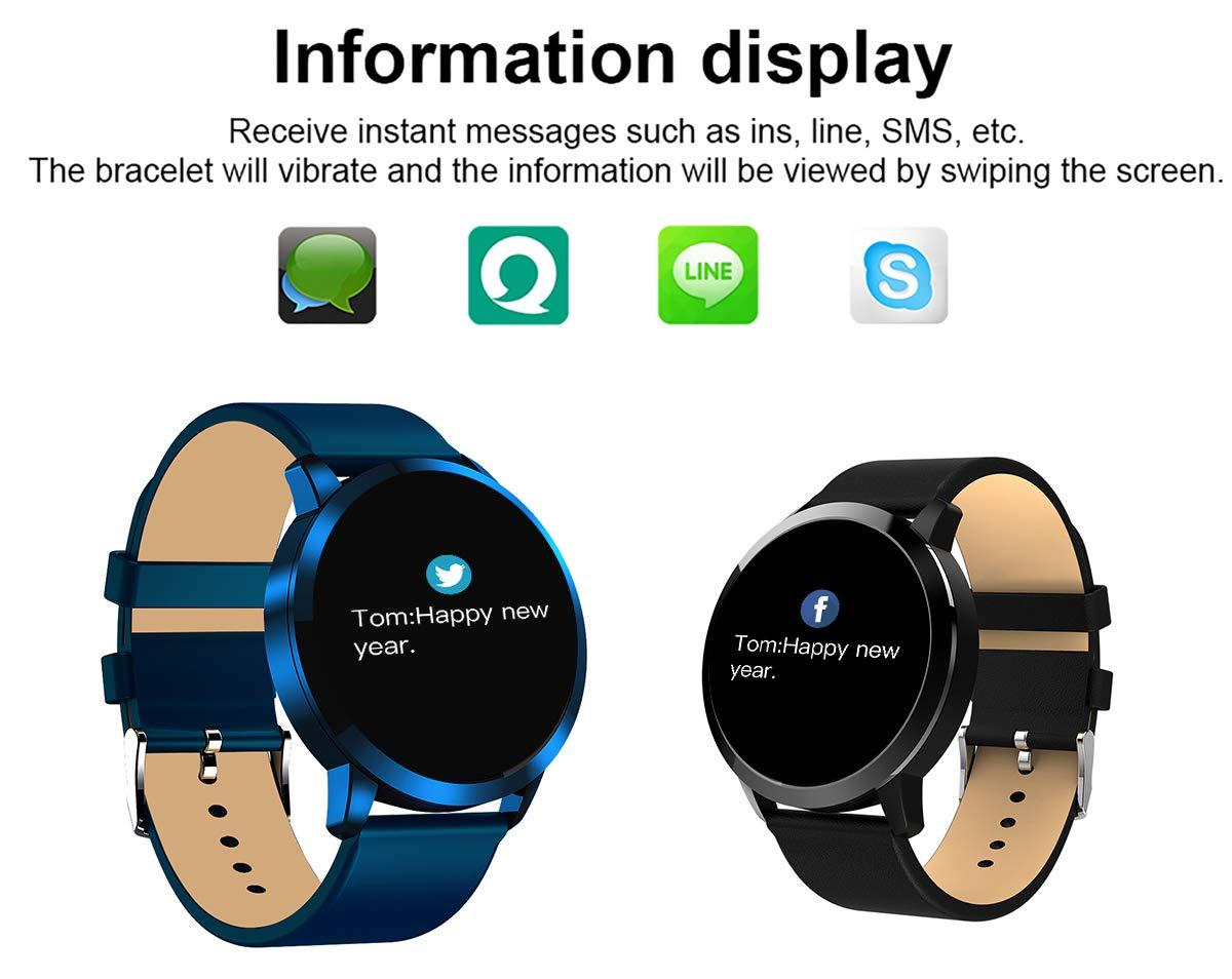 Adsvtech Smartwatch, Impermeable Reloj Inteligente Mujer Hombre, Pulsera Actividad Inteligente Reloj Deportivo Reloj… 6
