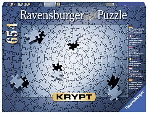 Ravensburger 15964 - Krypt Silber, 654 Teile Puzzle