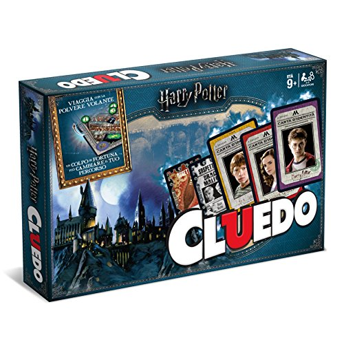 Winning Moves - Gioco da Tavolo - Cluedo Harry Potter Edizione da Collezione, /