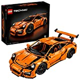 LEGO 42056 Technic Porsche 911 GT3 RS Car Model, Speed Build, Collector's Building Set